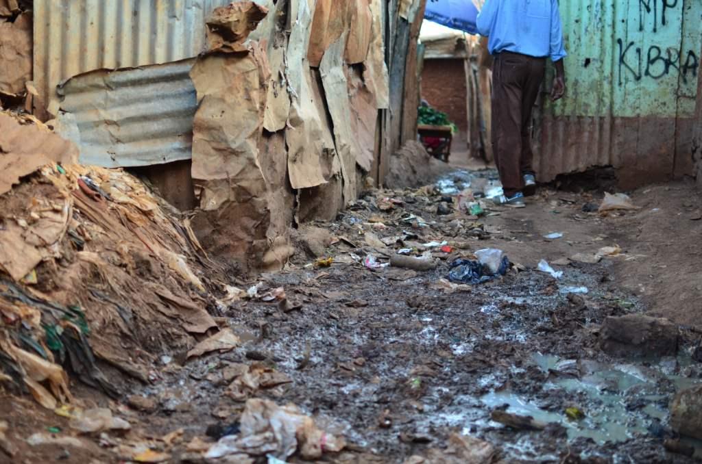 Africa, Kenia, Kibera, Nairobi, voluntariado, basura