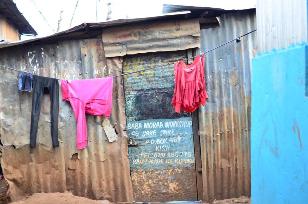 Kenia, casas, Kibera, Voluntariado