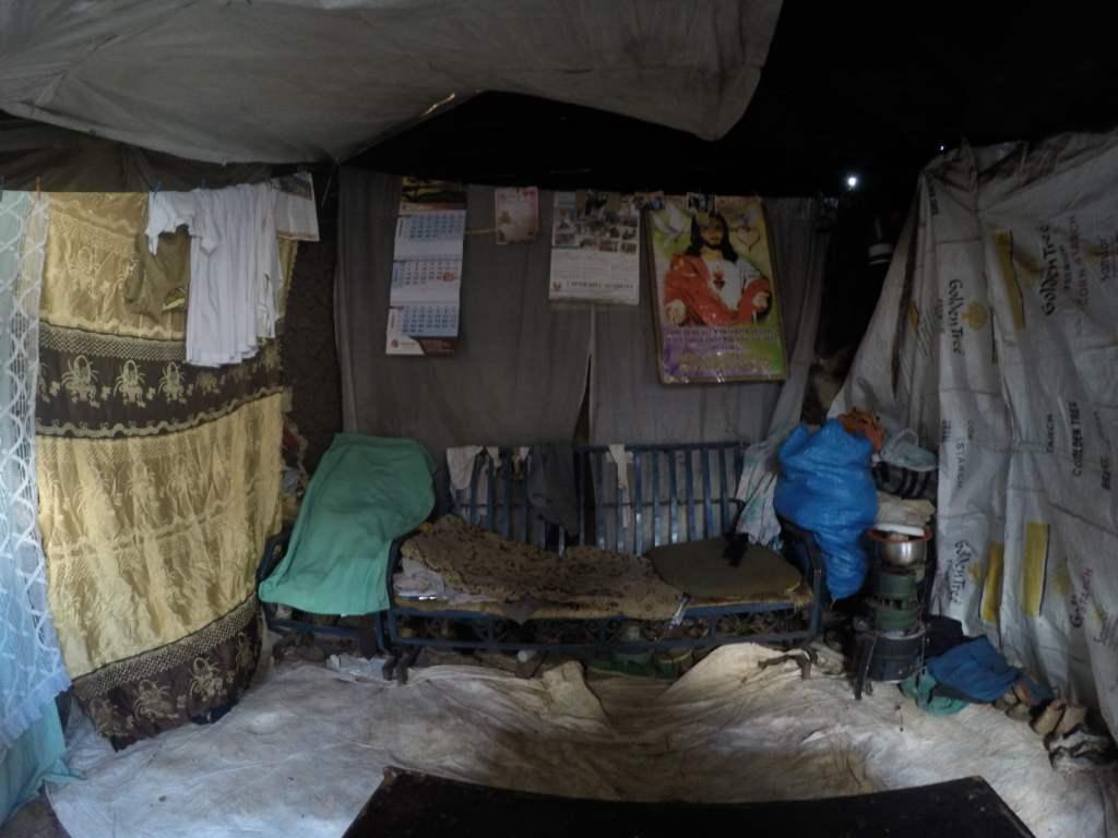 África, Kenia, Kibera, casa, voluntariado