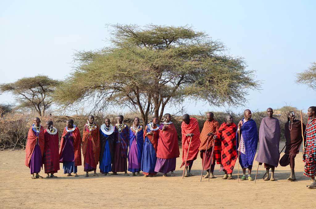 África, Tanzania, Serengeti, masai