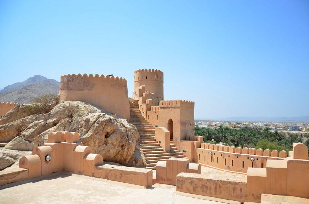 Ruta Omán, Itinerario Omán, Viaje Omán, Interior del Fuerte de Nakhal