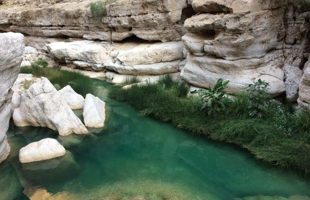 Viajar a Omán, Wadi Shab