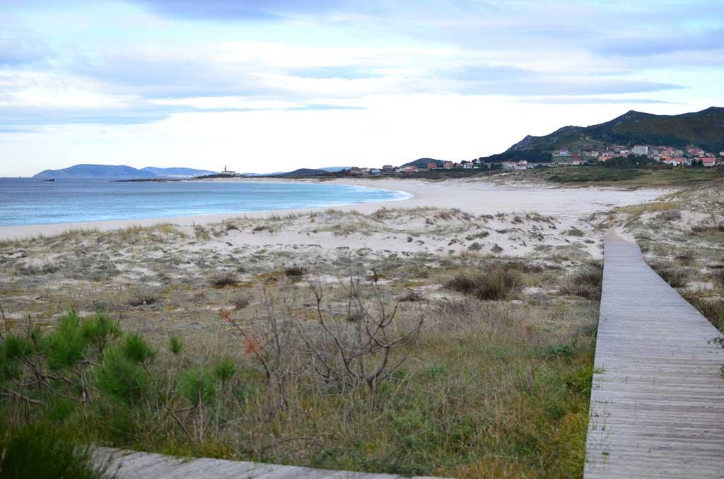 Playa de Ancoradoiro, Louro
