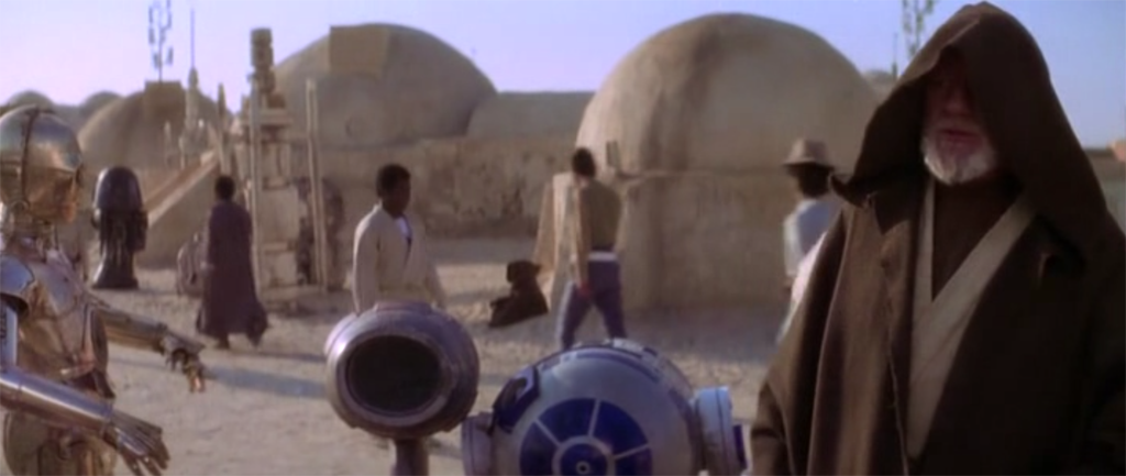 Escenario Star Wars, Tunez