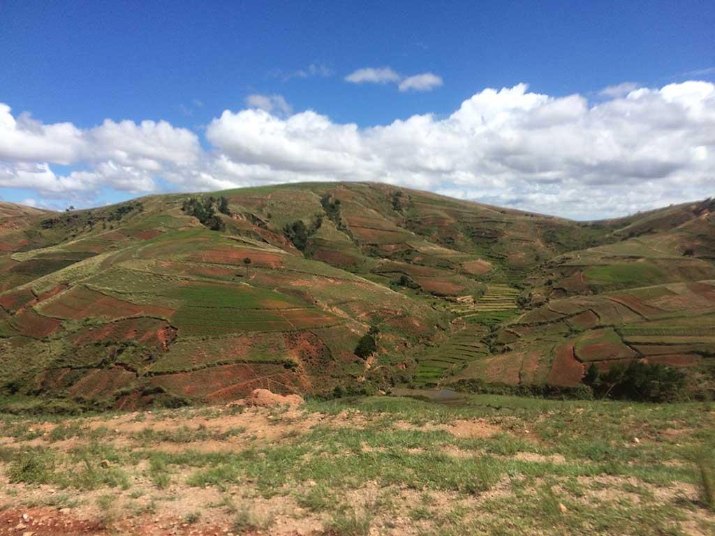 Deforestación madagascar