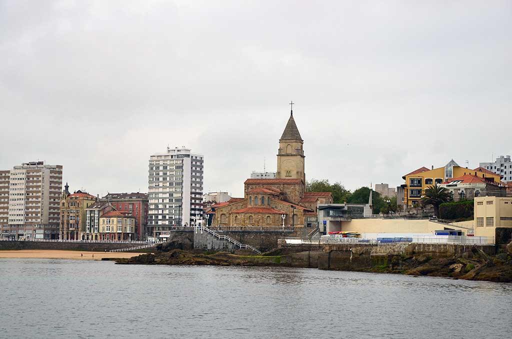 Etapa Gijón-Aviles por mar