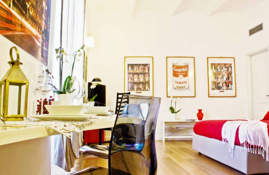 roma, apartamento