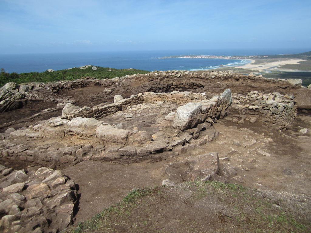 qué ver en Boiro, Arousa, Galicia, castro da Cidá