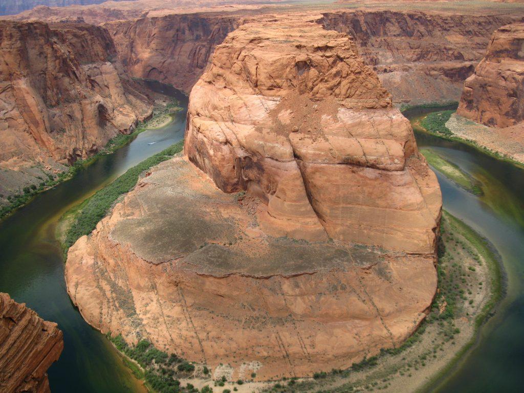 Formulario ESTA, visado USA, Curva de la Herradura (Horseshoe Bend), en Arizona
