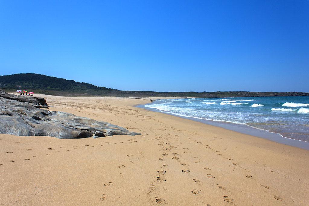 qué ver en Boiro, Arousa, Galicia, playa Espiñeirido