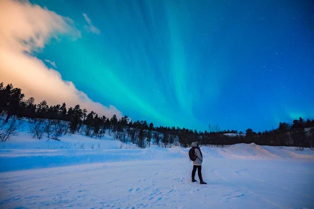Viajar Invierno Noruega Artica