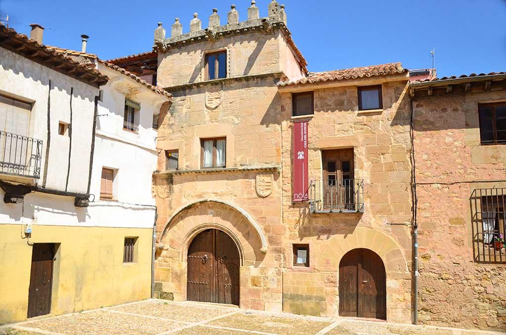 Casa del Doncel, Sigüenza, Guadalajara