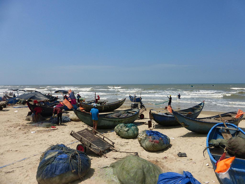 Vietnam en moto de Long Hai a Phan Thiet