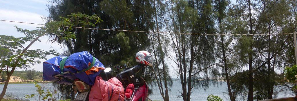 Vietnam en moto 3.  De Phan Thiet a Thap Cham, ruta por la costa (con mapa)