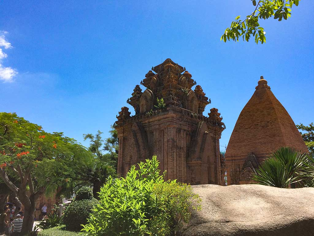 Torres cham de Ponagar, al lado de Nha Trang.