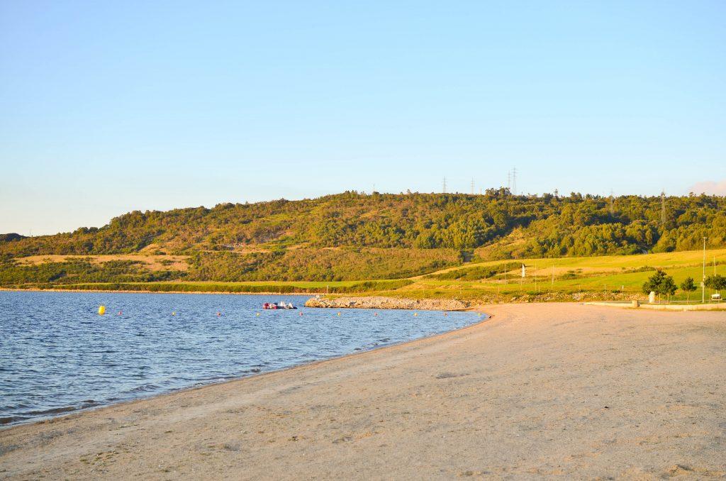El Lago de As Pontes, destino para actividades acuáticas sin motor