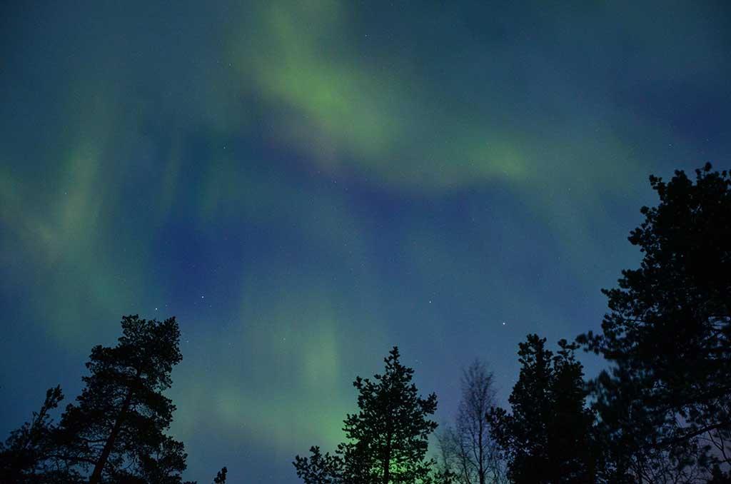 Ver auroras boreales noruega