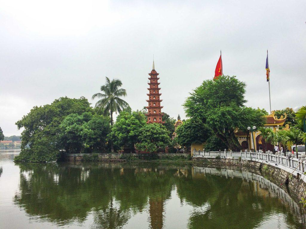 Vietnam en moto, hanoi