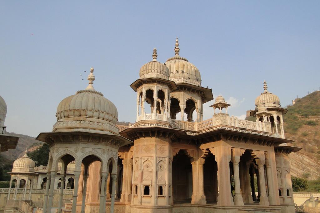Cenotafios reales de Gaitor, India