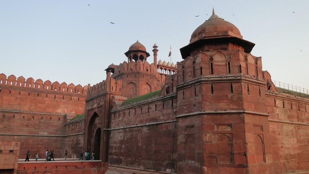 Fuerte Rojo, Delhi, India