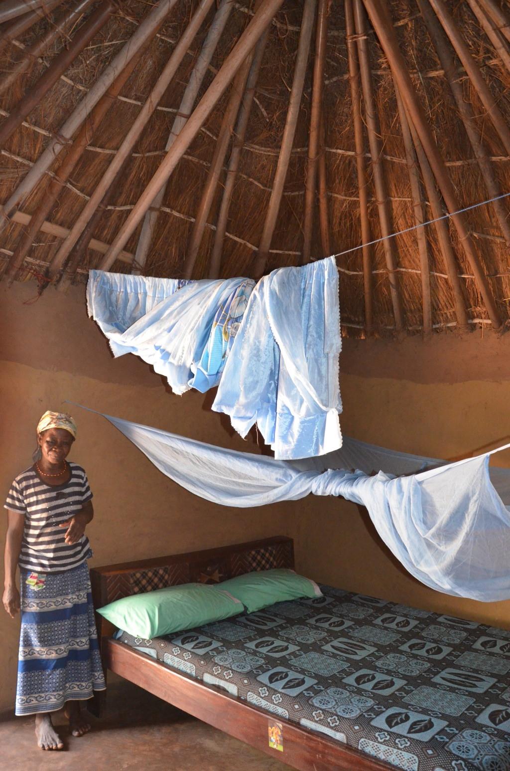 Habitación de huéspedes en Mognori.