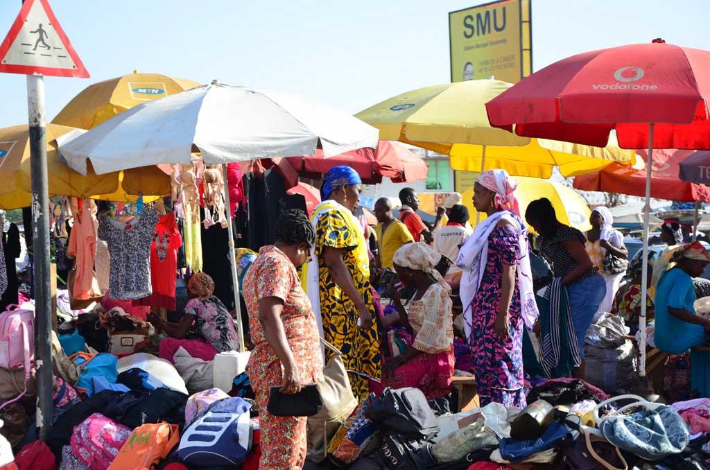 Mercado en Tamale