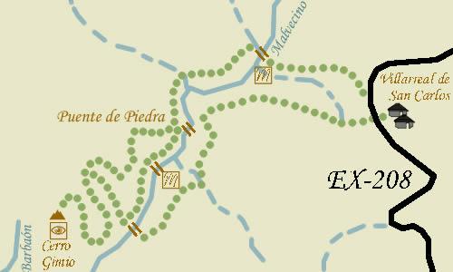 maparutaverde Monfrague