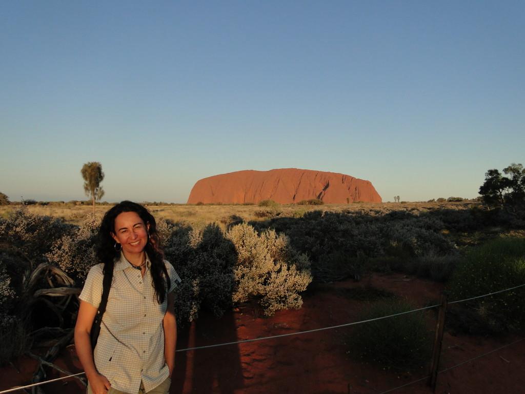 Australia fue mi primer gran viaje en solitario.