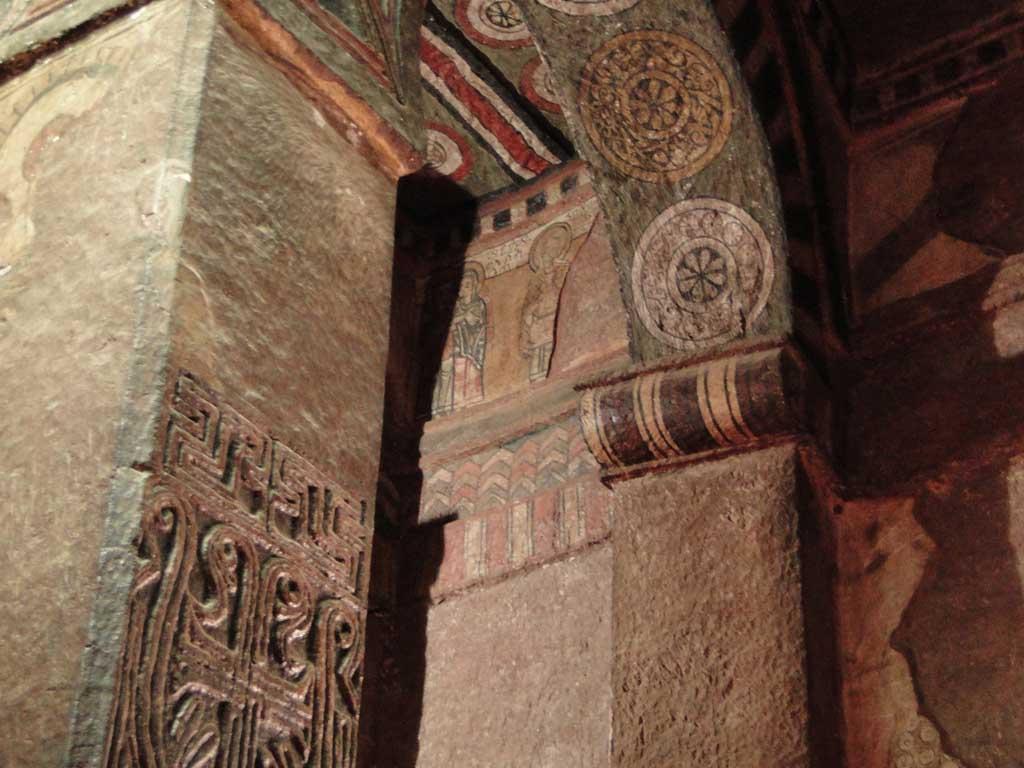 Interior de Biet Mariam (Casa Santa María)