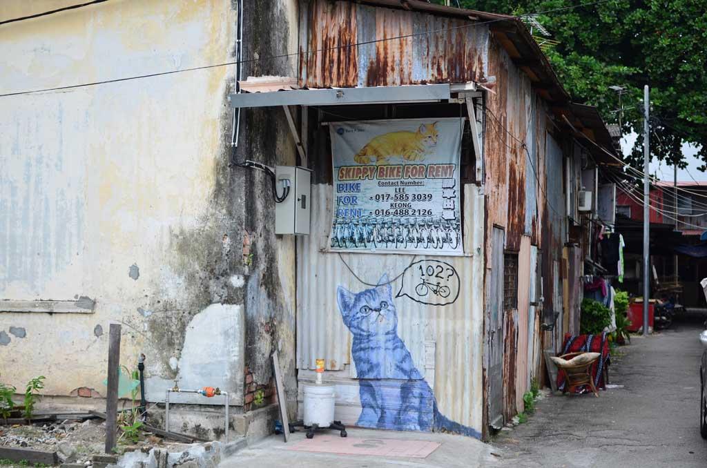 Graffitis Gerogetown, Penang, Malasia