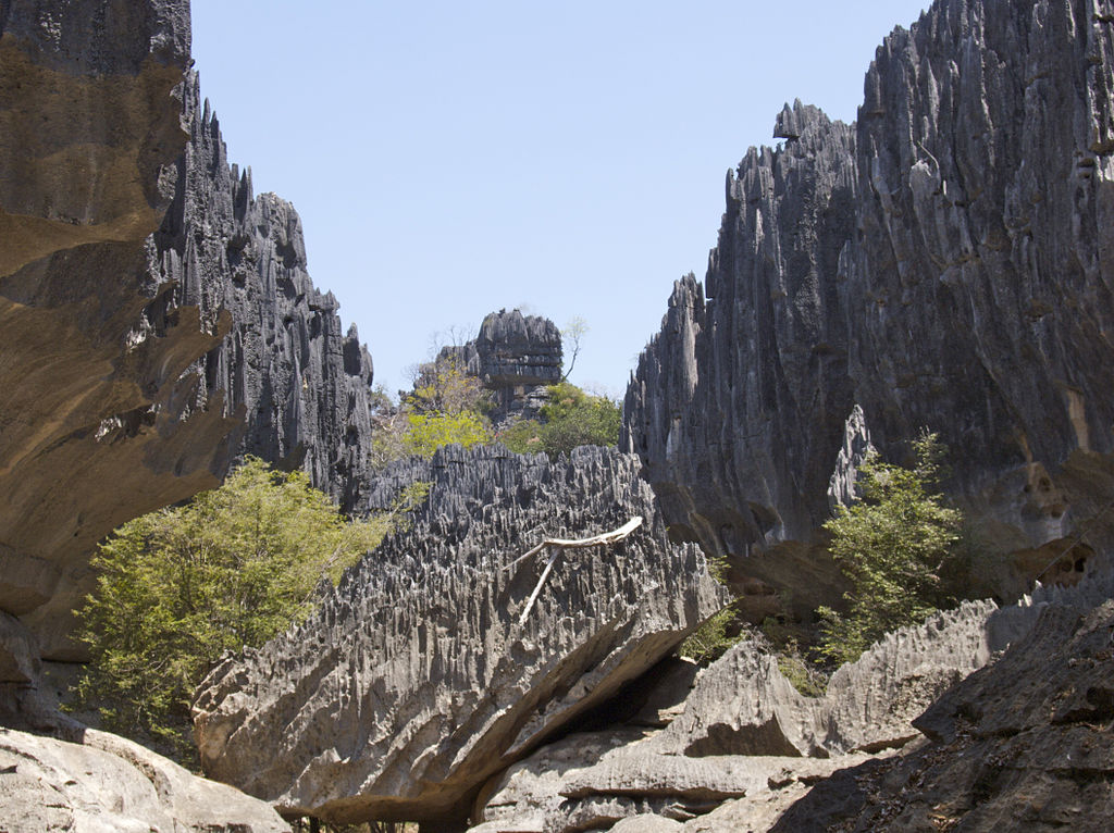 Tsingy de Namoroka, Madagascar. Fotografía: Wikipedia