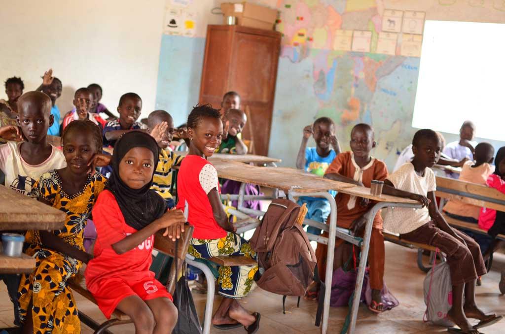 Escuela de Faoye, Senegal