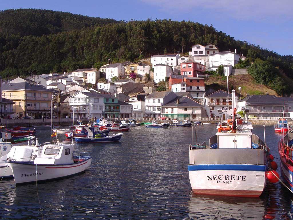 Pueblos de costa en Galicia