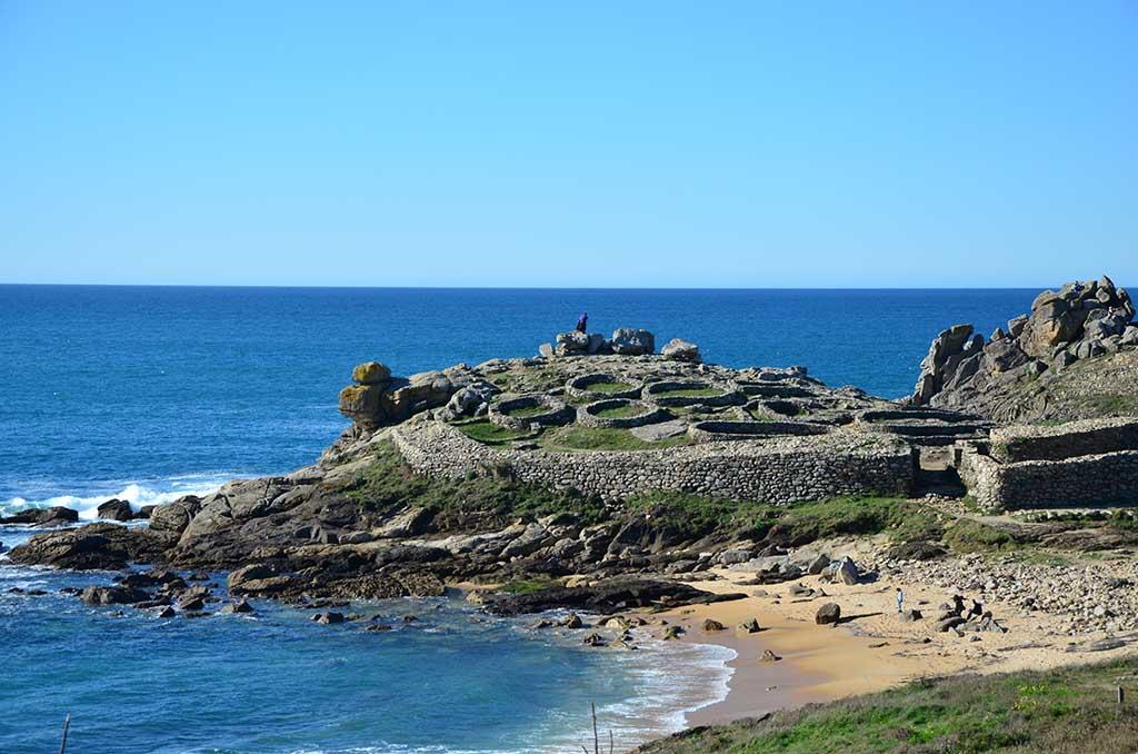 qué ver en Boiro, Castro de Baroña, Arousa, Galicia