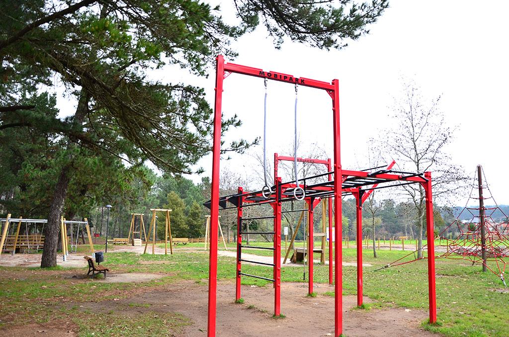 qué ver en Boiro, Arousa, Galicia, parque multiaventuras en Boiro
