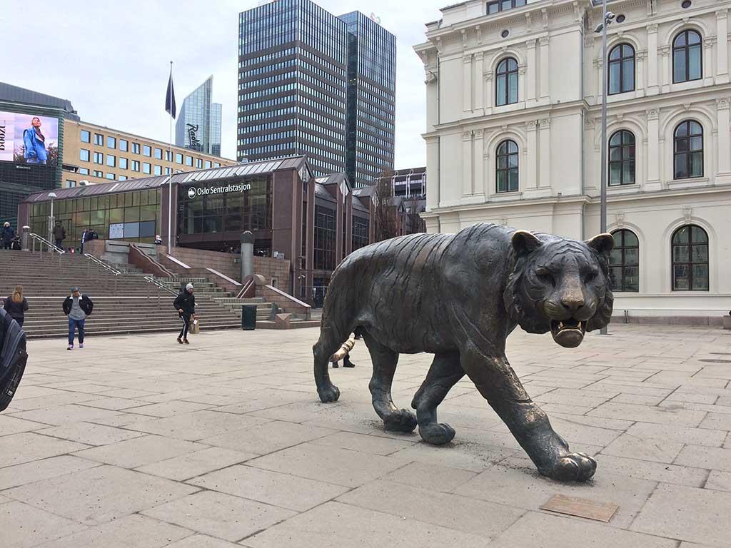 Qué ver en Oslo. El tigre de Oslo