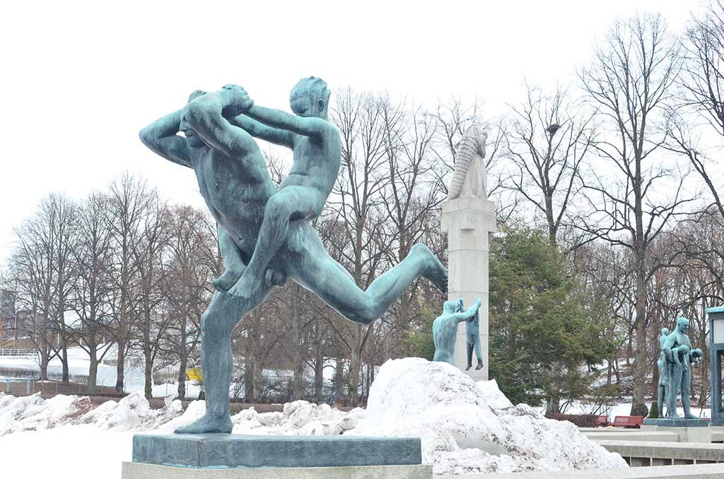 Qué ver en Oslo. Parque de esculturas de Vigeland