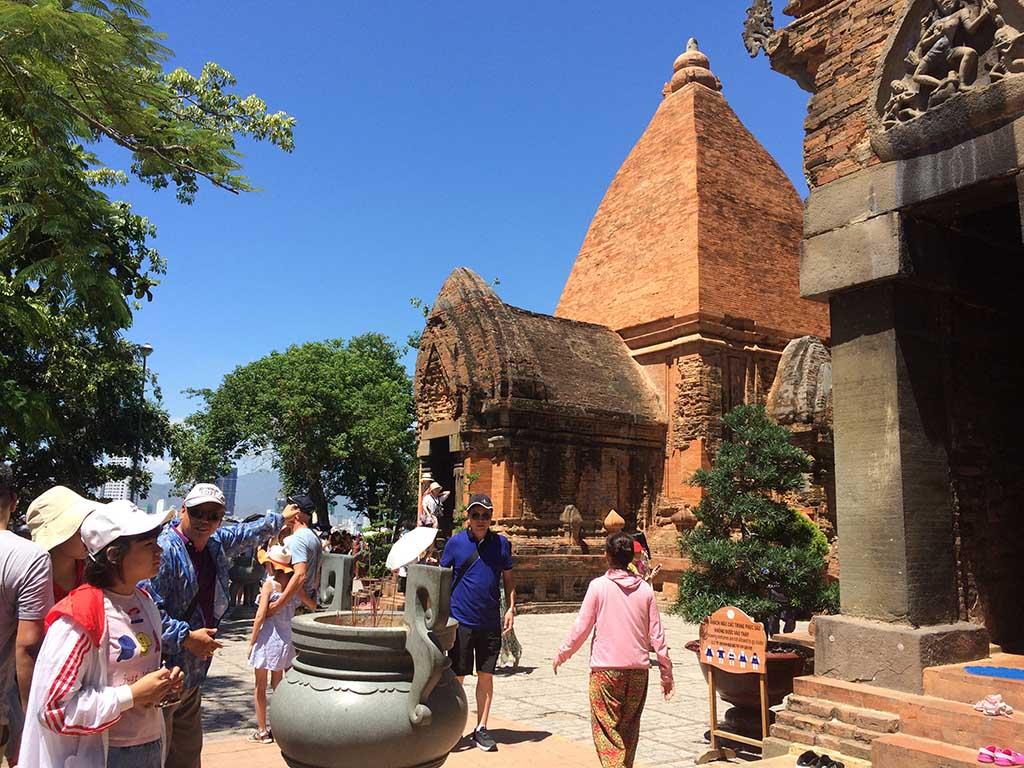 Torre cham de Ponagar en Nha Trang