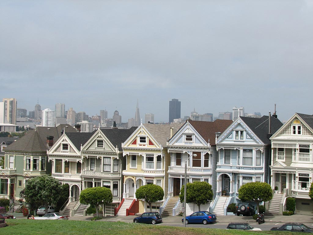 qué ver en la Costa Oeste de Estados Unidos, painted ladies