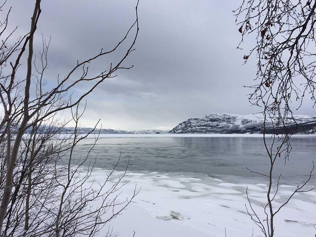 ruta en coche noruega