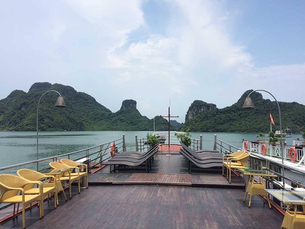 Viajar a Vietnam, crucero Bahía de Halong